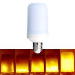 Flaming LED Light Bulb