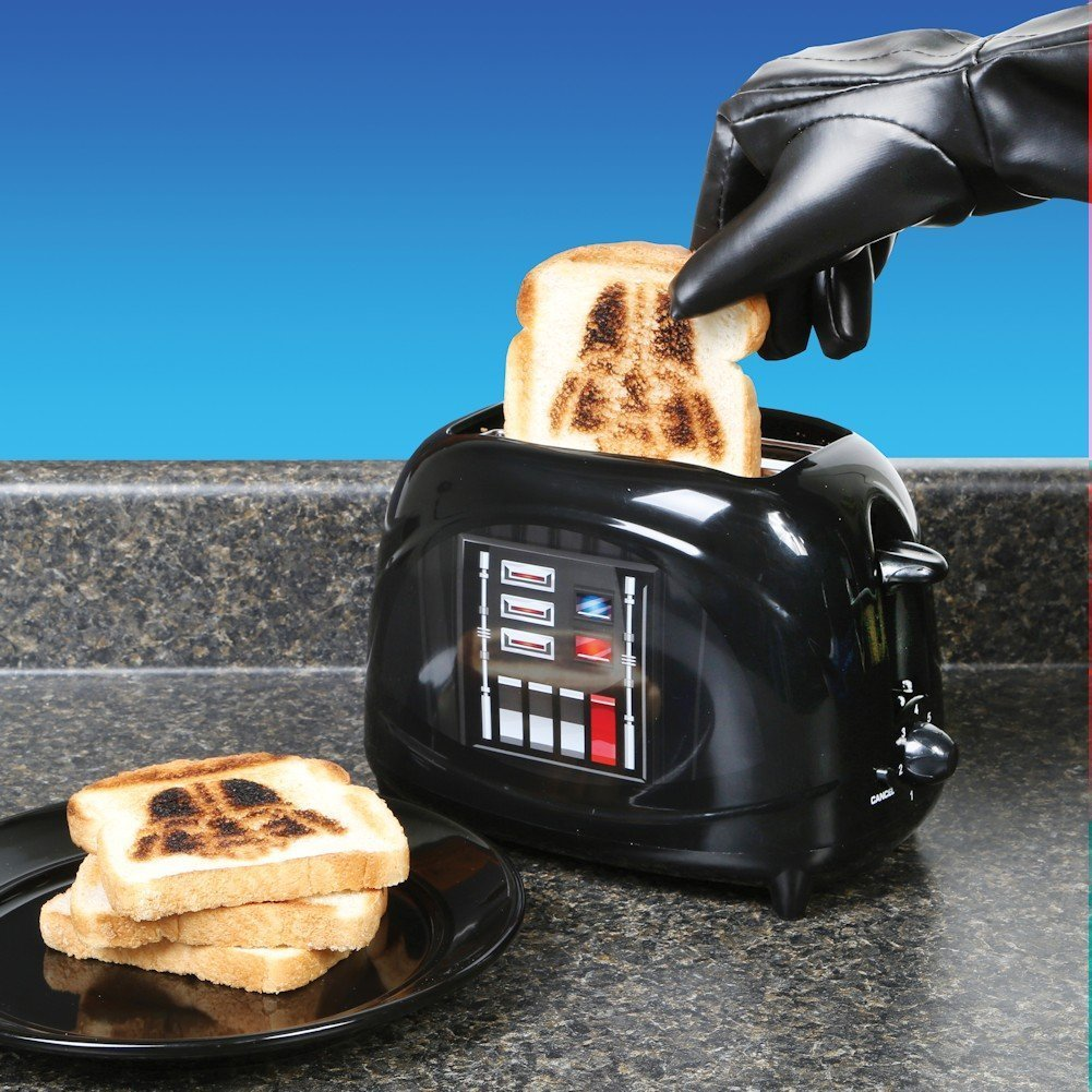 star wars darth vader toaster star wars darth vader toaster star wars toaster darth vader. Black Bedroom Furniture Sets. Home Design Ideas