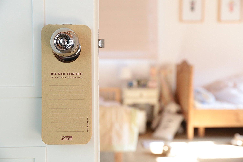 Doorknob Hanging Memo Pads