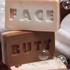 Butt and Face Soap Bar