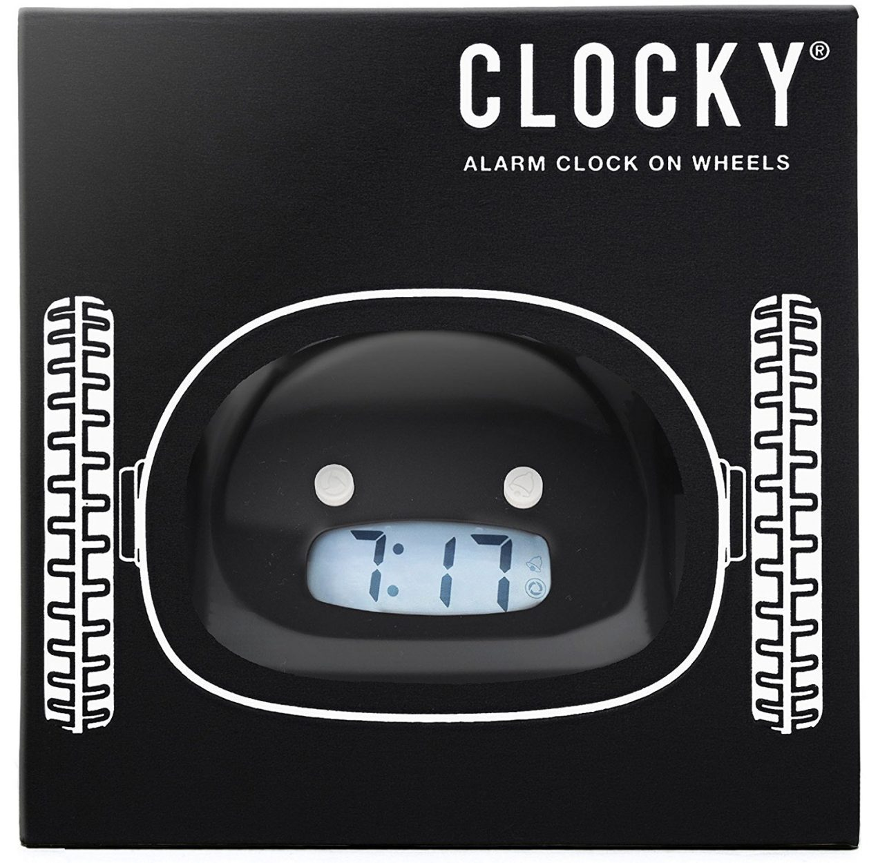 Clocky: Alarm Clock on Wheels