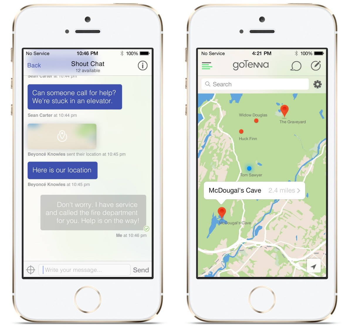 goTenna: Text & GPS on Your Phone, Without Service