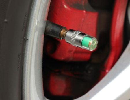 Smart Tire Pressure Caps
