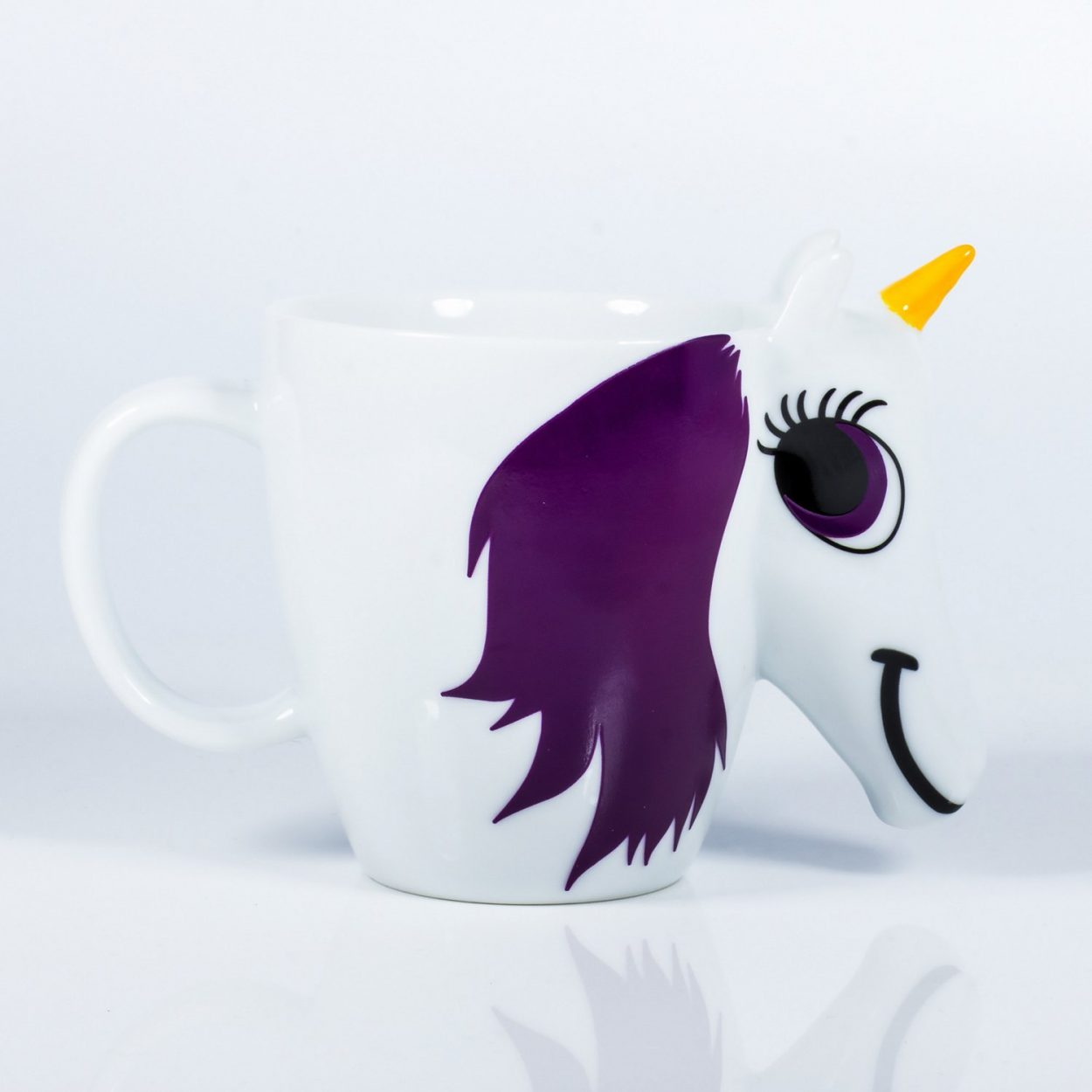 Heat Sensitive Rainbow Unicorn Mug