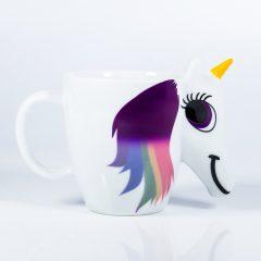 Heat Sensitive Rainbow Unicorn Mug