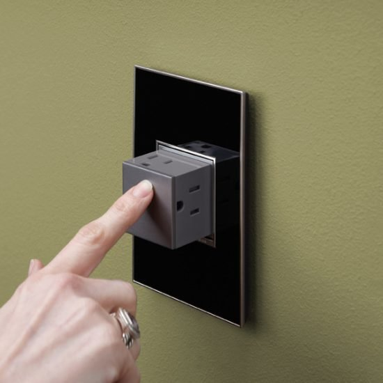 Pop Out Wall Outlet