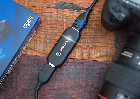 Elgato CamLink: Use Your Camera as a Webcam