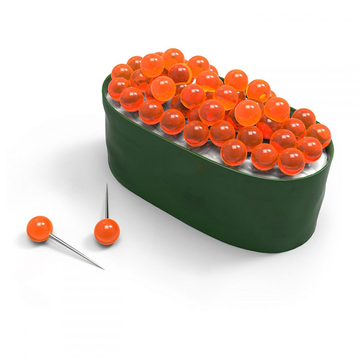 Sushi Roll Shaped Push Pins