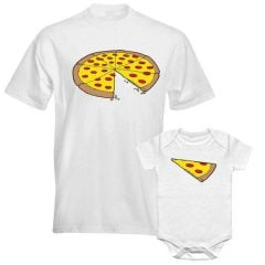 Father & Son Pizza Slice Shirts