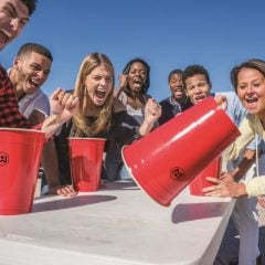 Giant Flip-Cup Cups