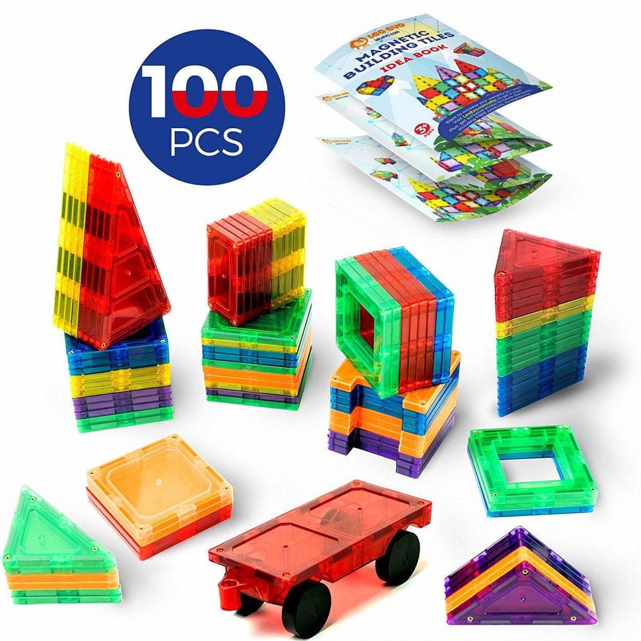 Magnetic Building Tiles for Kids