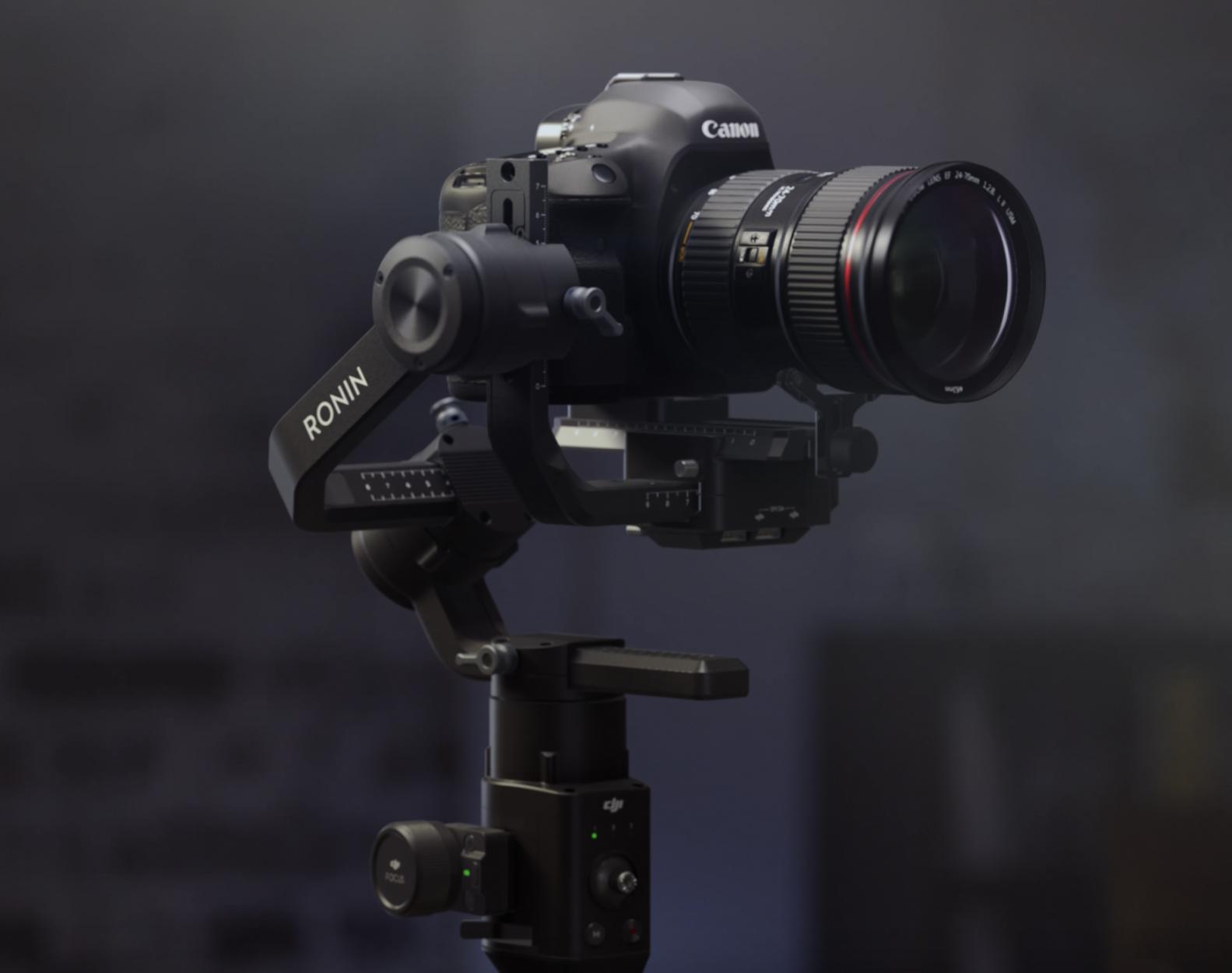 DJI Ronin-S: Camera Stabilizer