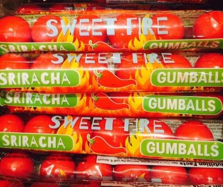 Sriracha Gumballs