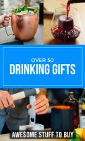 Cool Drinking Accessories // Awesome Stuff to Buy
