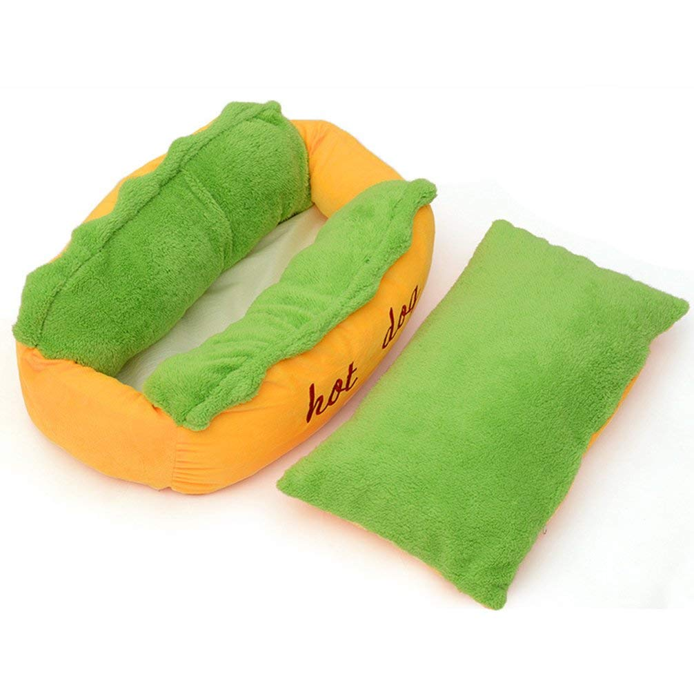 Hot Dog Pet Bed