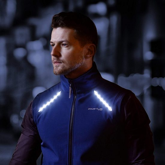 LED Reflective Cycling & Running Vest