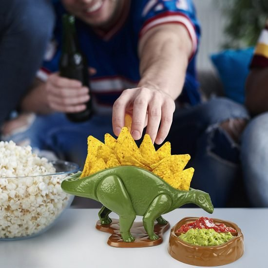 Nachosaurus Dip And Snack Dish Set
