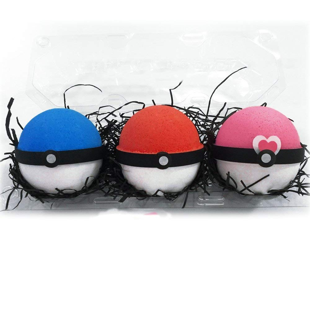 Poke Ball Bath Bomb Set