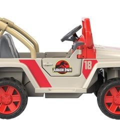 Jurassic Park Kids Power Wheels Jeep