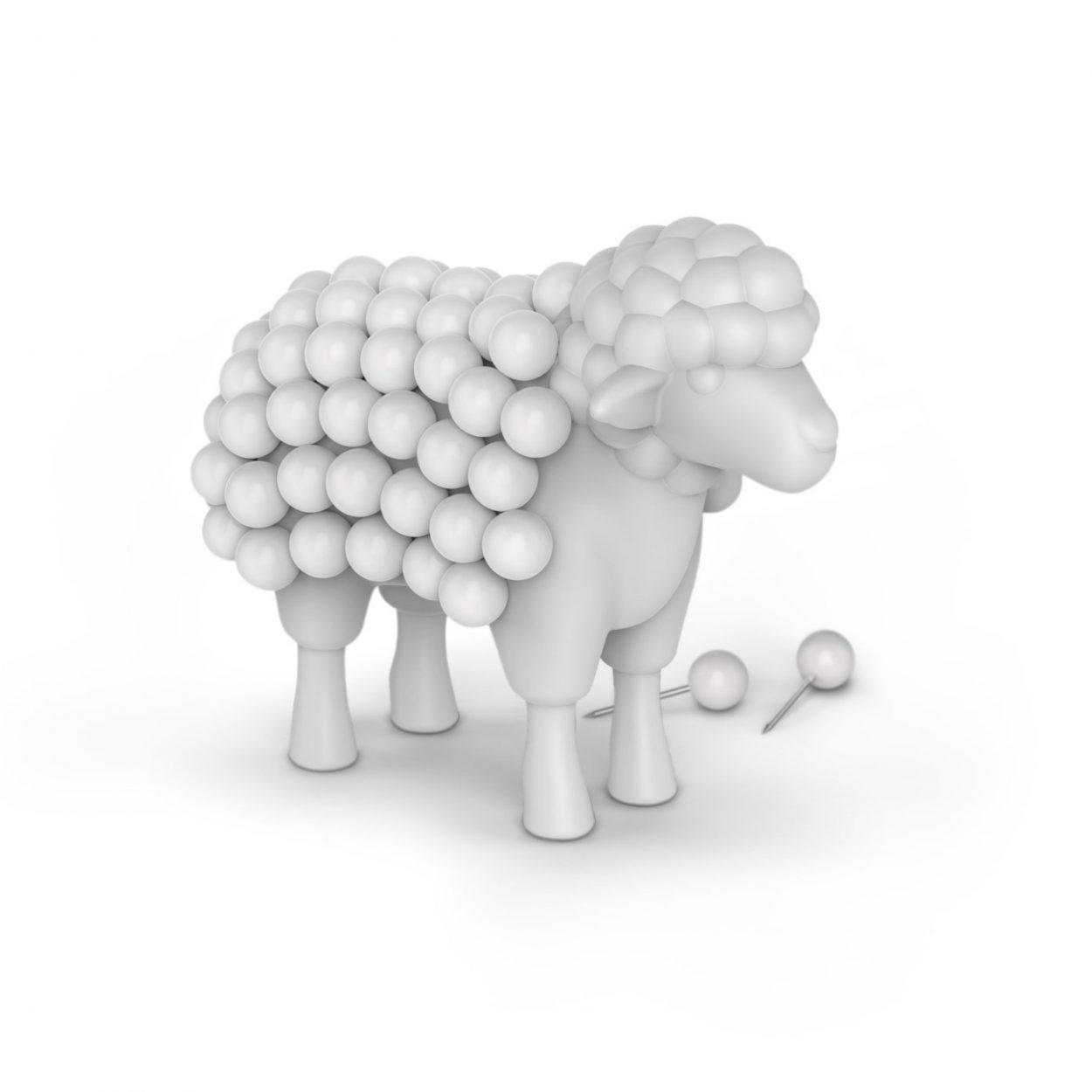 Sheep Push Pin Holder