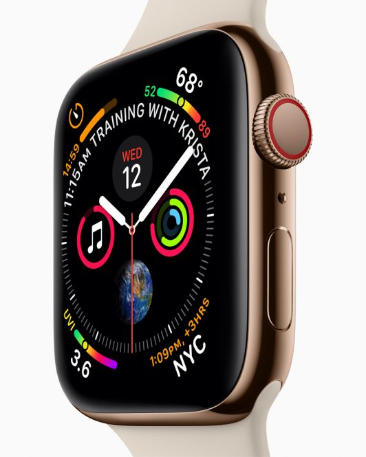 Le Watch Series 4