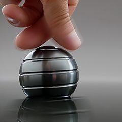Mezmoglobe - Kinetic Desk Sphere