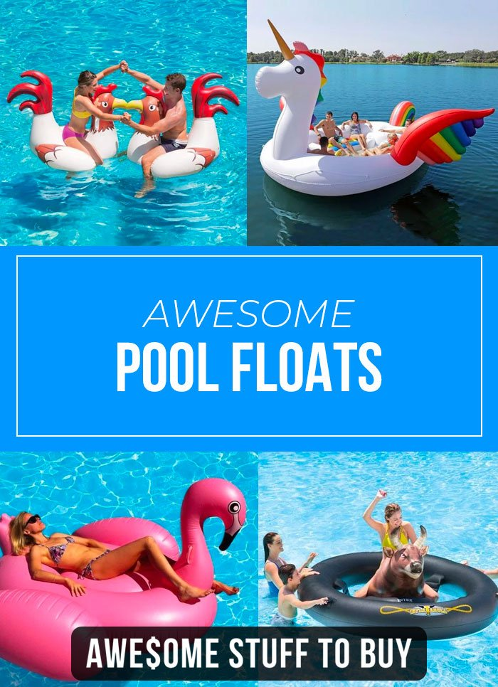 Funny Pool Floats // Awesome Stuff to Buy