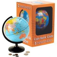 Globe Piggy Bank