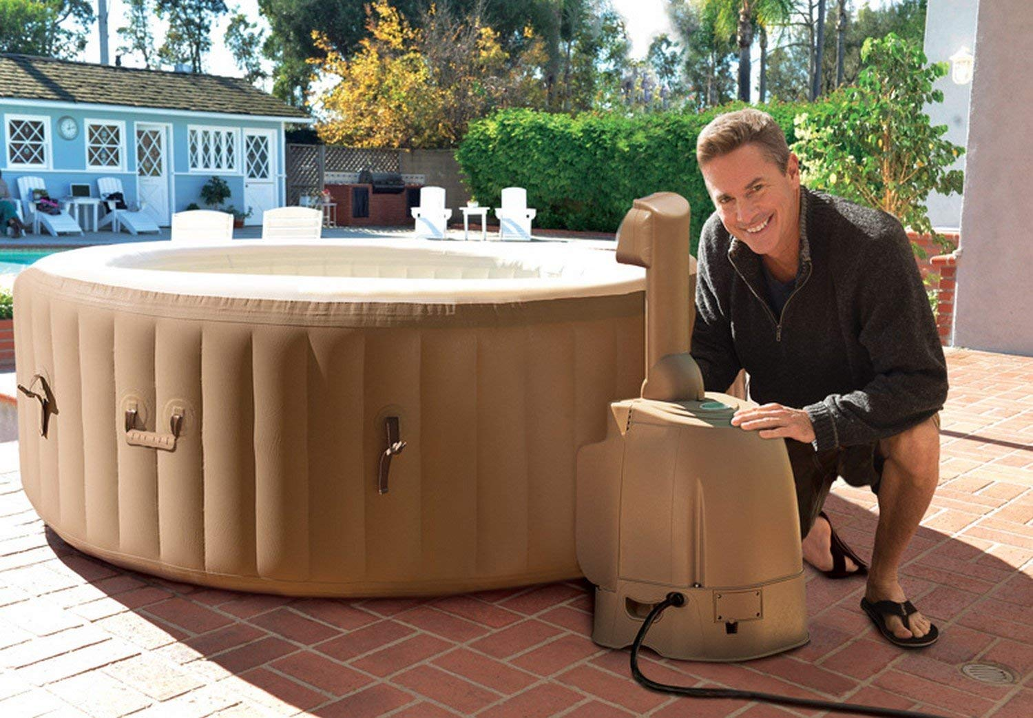 Inflatable Hot Tub