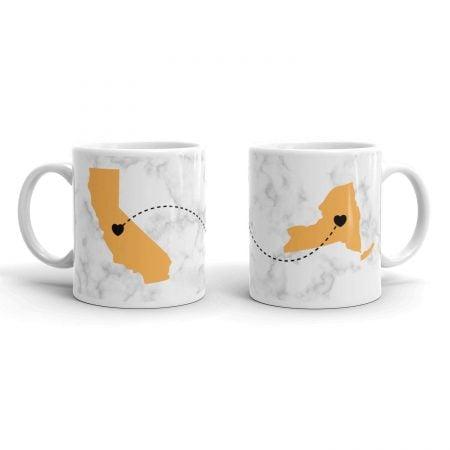 Long Distance Coffee Mugs