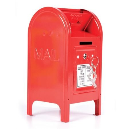 Metal Mailbox Piggy Bank