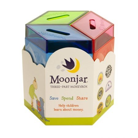 Moon Jar Money Box