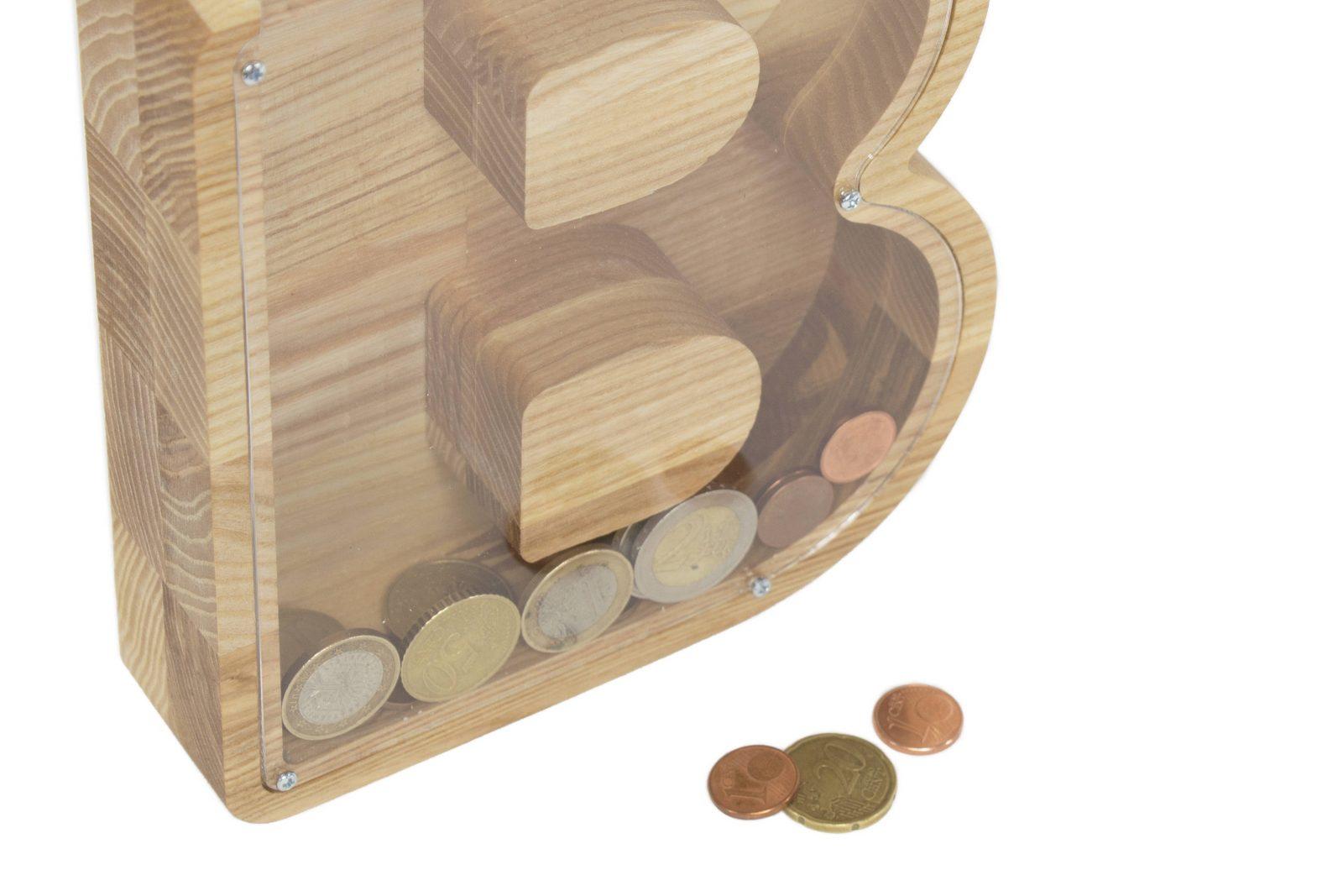 Peronalized Initial Piggy Bank