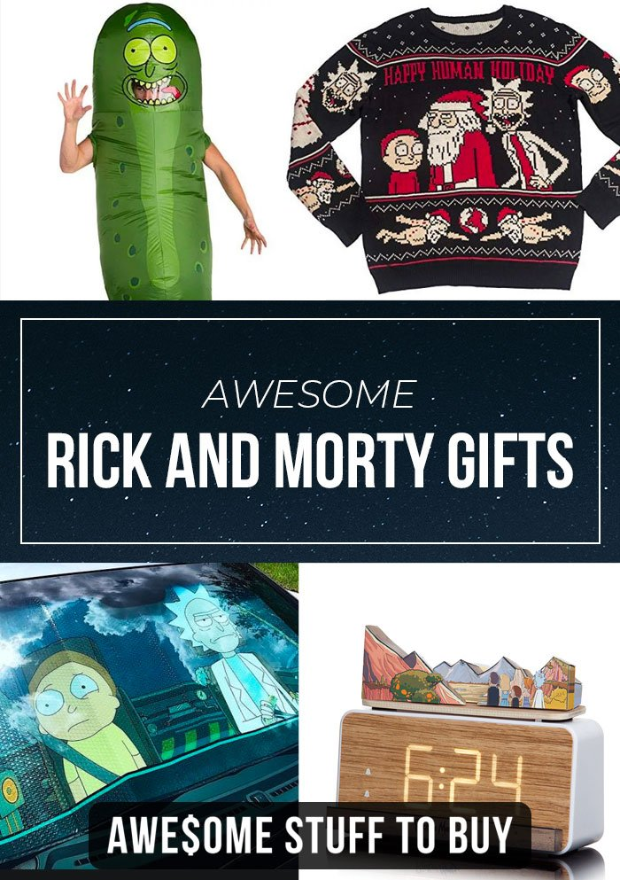 Rick and Morty Gifts // Awesome Stuff to Buy