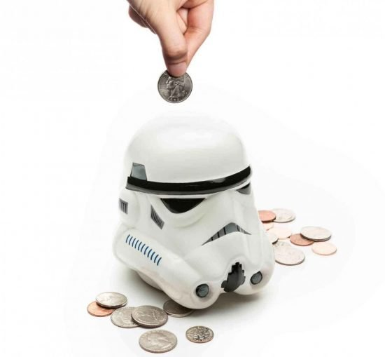 Storm Trooper Piggy Bank