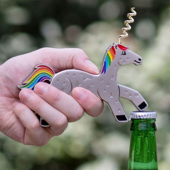 Unicork - Unicorn Bottle Opener & Corkscrew