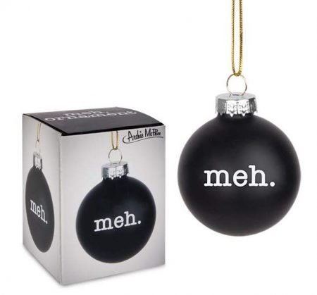 Meh Christmas Tree Ornament