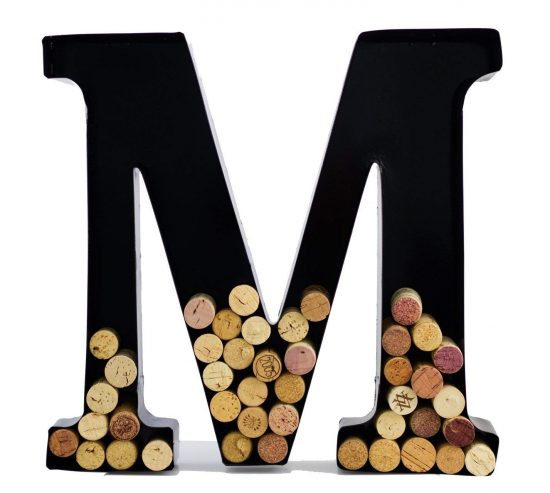 Monogram Cork Holder
