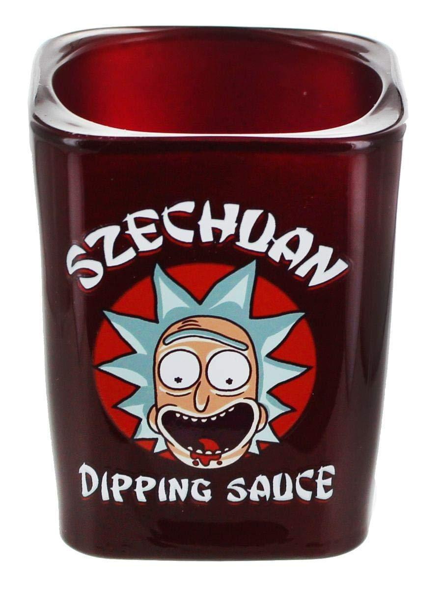 Rick and Morty Szechuan Dipping Sauce Shot Glass