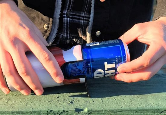 The Beer Shotgun Shell - Ultimate Beer Chugging Tool