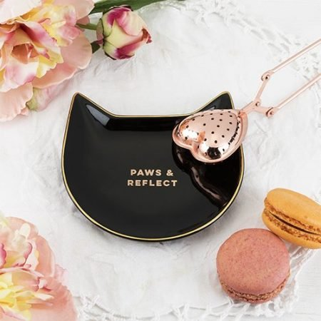 Black Cat Tea Tray