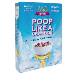 Poop Like a Champion Cereal