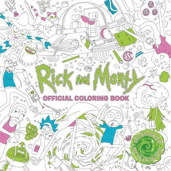 Rick and Morty Coloring Book