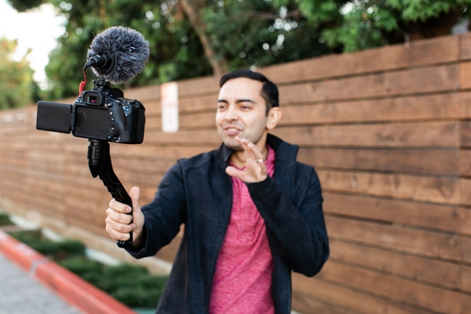 SwitchPod: Tripod for Vloggers