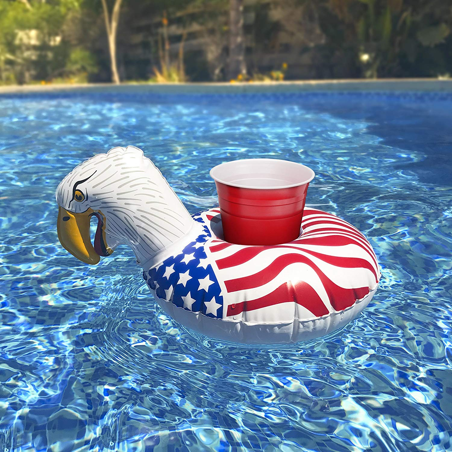Inflatable Floating Drink Holders