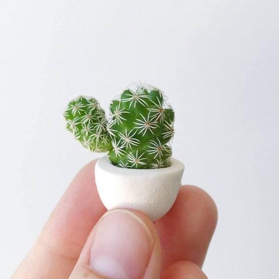 Mini Cactus Planters