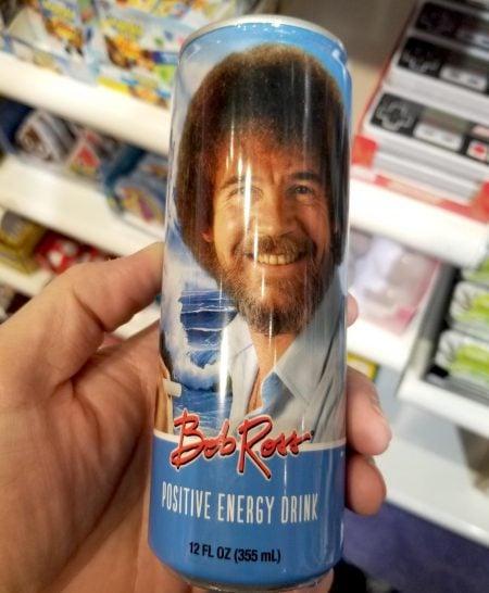 Bob Ross Positive Energy Drink