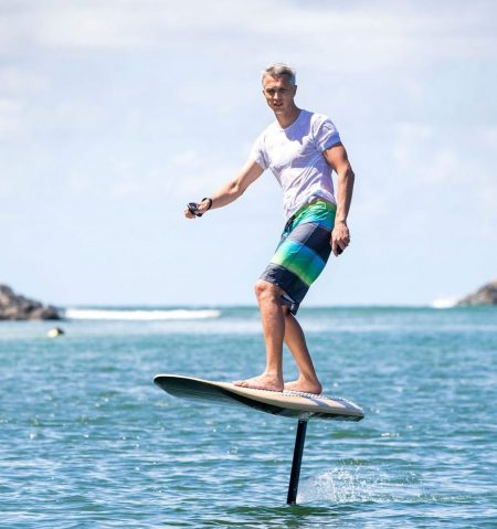 Electric Hydrofoil Surfboard