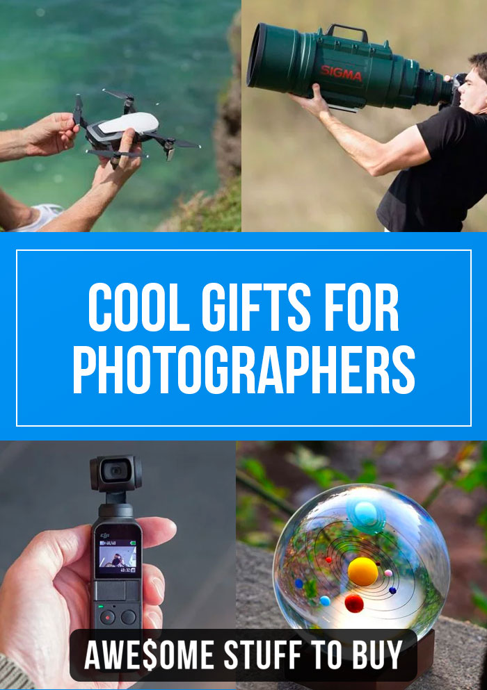 Gifts for Photographers // Awesome Stuff to Buy