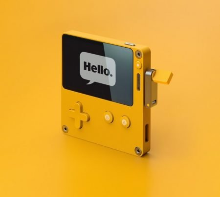 Playdate: Portable Hand Crank Powered Games